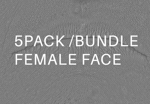 Bundle Female Face Displacement #01