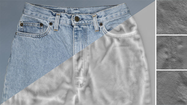 Denim trousers #17 - Texturing.xyz