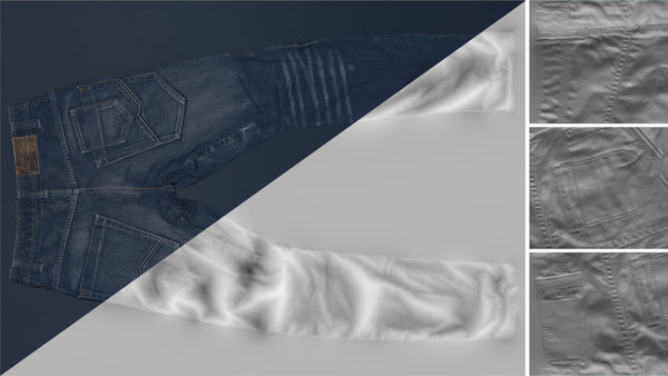Denim trousers #09 - Texturing.xyz