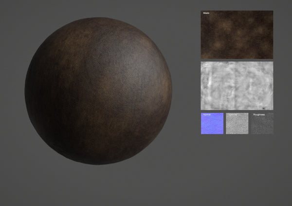 Leather #15 - Texturing.xyz