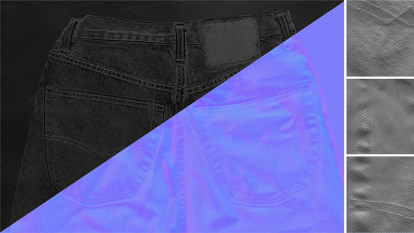 Denim trousers #18 - Texturing.xyz