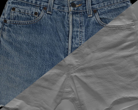 Denim short #03 - Texturing.xyz