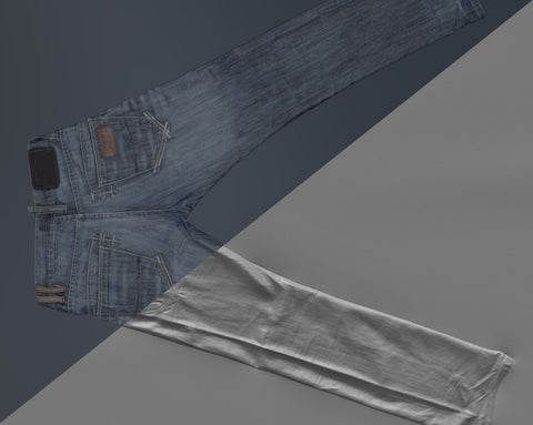 Denim trousers #12 - Texturing.xyz