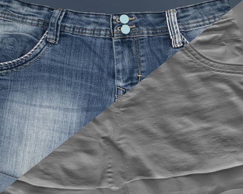 Denim short #07 - Texturing.xyz