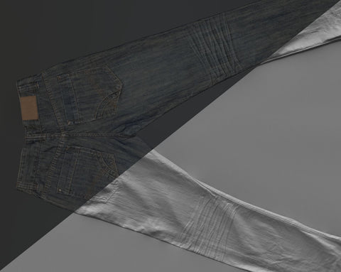 Denim trousers #07 - Texturing.xyz