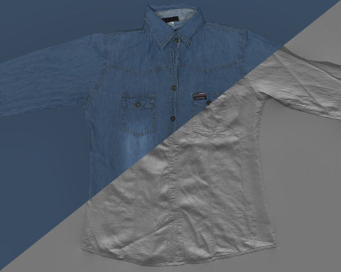 Denim shirt #03 - Texturing.xyz