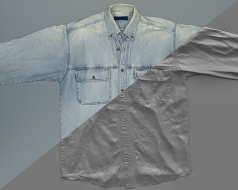 Denim shirt #01 - Texturing.xyz