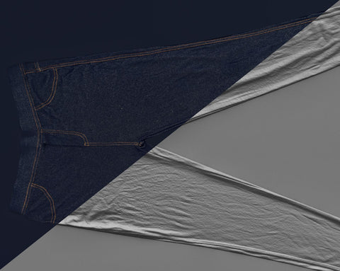 Denim trousers #20 - Texturing.xyz