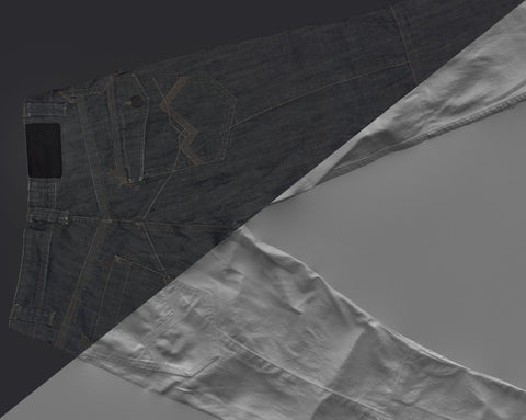 Denim trousers #29 - Texturing.xyz