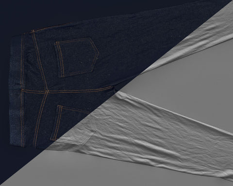 Denim trousers #22 - Texturing.xyz