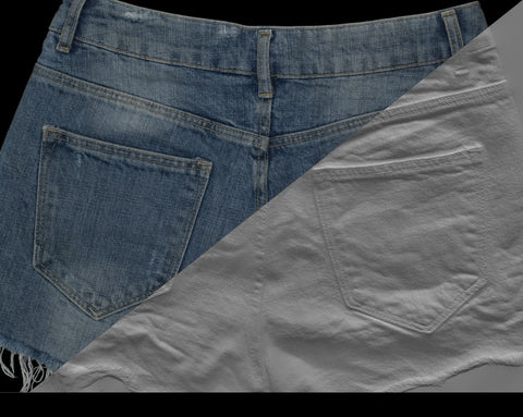 Denim short #02 - Texturing.xyz