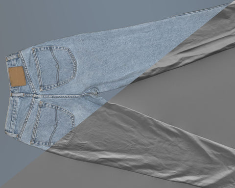 Denim trousers #05 - Texturing.xyz
