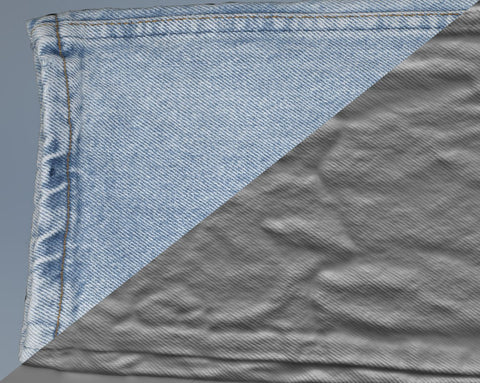 Denim trousers #16 - Texturing.xyz