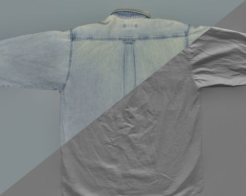 Denim shirt #02 - Texturing.xyz