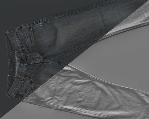 Denim trousers #25 - Texturing.xyz