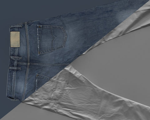 Denim trousers #24 - Texturing.xyz