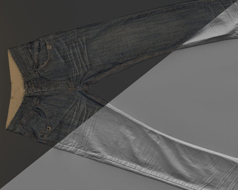 Denim trousers #06 - Texturing.xyz