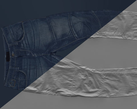 Denim trousers #08 - Texturing.xyz