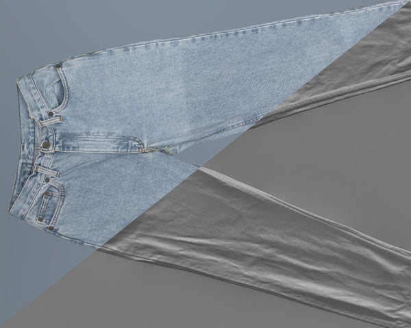 Denim trousers #04 - Texturing.xyz