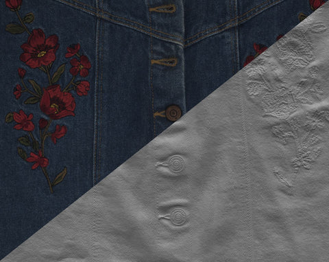 Denim skirt #01 - Texturing.xyz