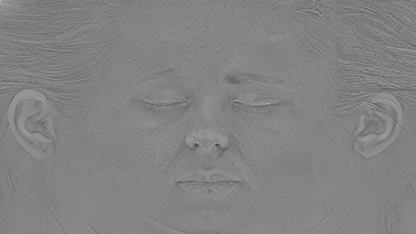 Female 20s Multichannel Face #54 - Texturing.xyz