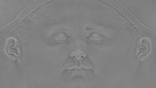 Female 30s Multichannel Face #25 - Foundry - Texturing.xyz