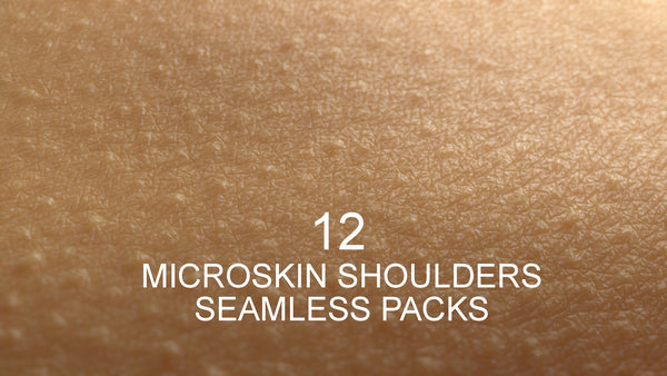MicroSkin bundle shoulders #01 - Texturing.xyz