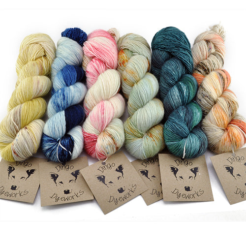 LARAPINTA TRAIL PACK<br>Yarn Only Kit<br>in 100% Merino YARN