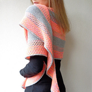 SAND LAYERS Pattern<br>Yarn Only Kit<br>in Ridgy-Didge Yarns
