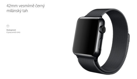 Leaked Space black milanese loop apple watch-focuseak