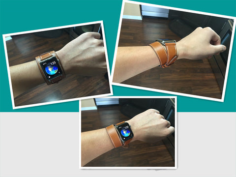 Hoco Double Tour Hermes Apple Watch Bands Live Show