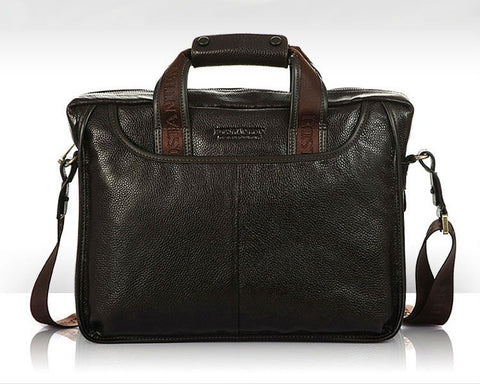 leather handbag for men