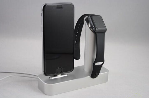 Review: COTEetCI Aluminum Apple Watch and iPhone Charging Stand Dock