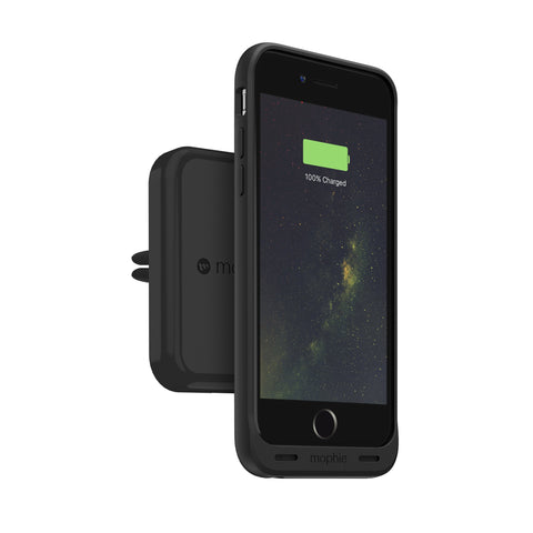 Mophie charge force Qi Wireless Car Charger Vent Mount