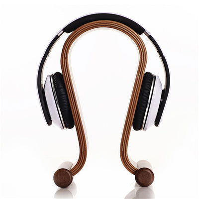Wooden Headphone Display Stand