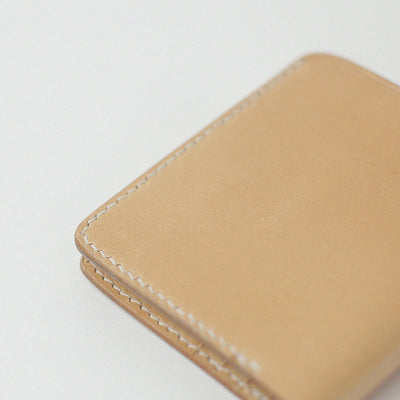 Handmade leather wallet for men and women