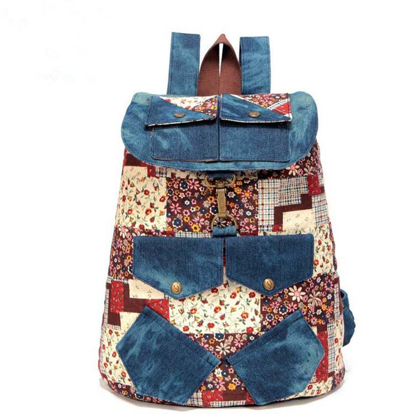 Cool Cowboy butterfly backpack school bags for girls, women and ladies