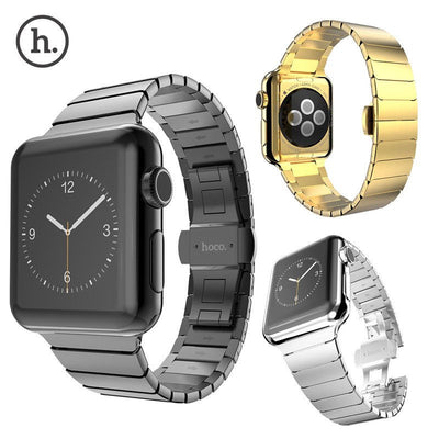 Hoco Butterfly Lock Link Bracelet Stainless Steel Band for Apple Watch