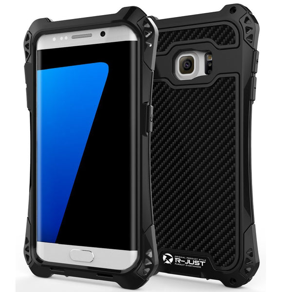 R-JUST Aluminum Metal Shockproof Case for Samsung Galaxy S7, S7 Edge
