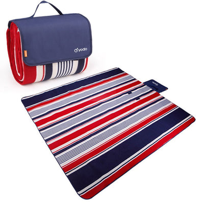 "Extra Large Outdoor Waterproof Picnic Blanket 79"" x 79"""
