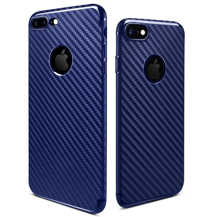 Hoco 6g Lightweight Carbon Fiber Pattern PP Cover Case for iPhone 7/7 Plus