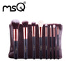 8pcs Rose Gold Makeup Brushes Set MAC Makeup Style