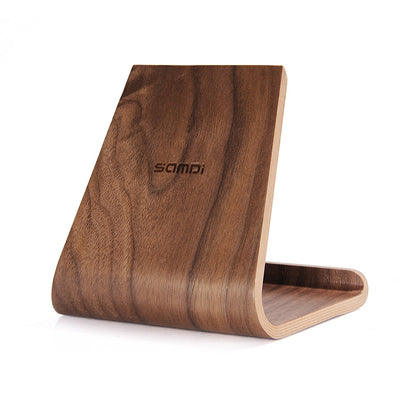 Samdi Wood Stand for iPhone iPad Tablet