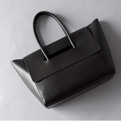 Beautiful Brief Design Black Women Leather handbags working tote bag