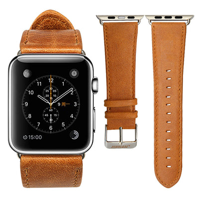Best Retro Premium Leather Band Straps for Apple Watch