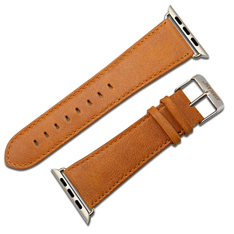 Retro Premium Leather Band for Apple Watch