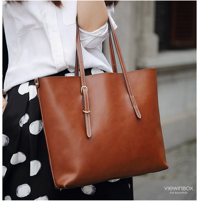 Simply Large Leather Tote Bag satchel bag for women