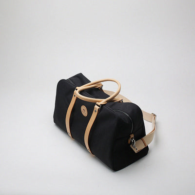 Handmade Leather Duffel Bag Travel Bag