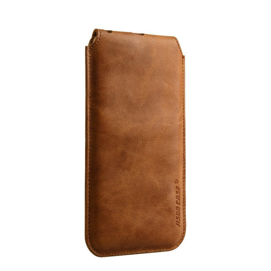 iPhone 6 6S Leather Sleeve Pouch Case