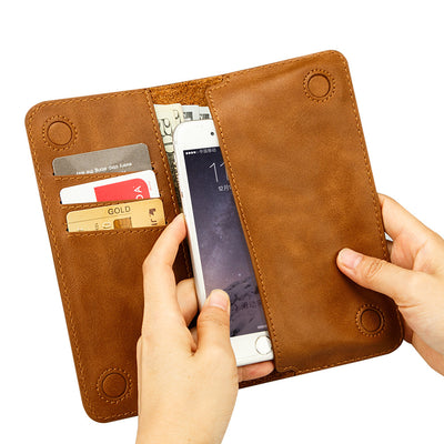 iPhone 6 6S Leather Wallet Case